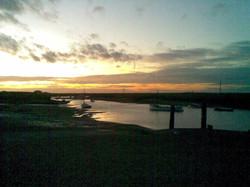 The creek evening 2