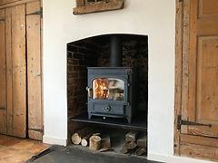 Teal Wood burner