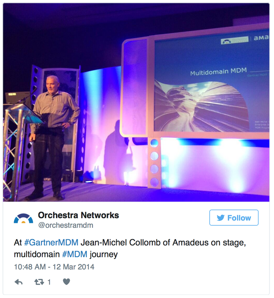 Four Tips for successful MDM from Amadeus' Jean-Michel Collomb
