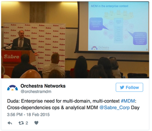 MDM & Analytics at the 4th Sabre Data and Analytics Day