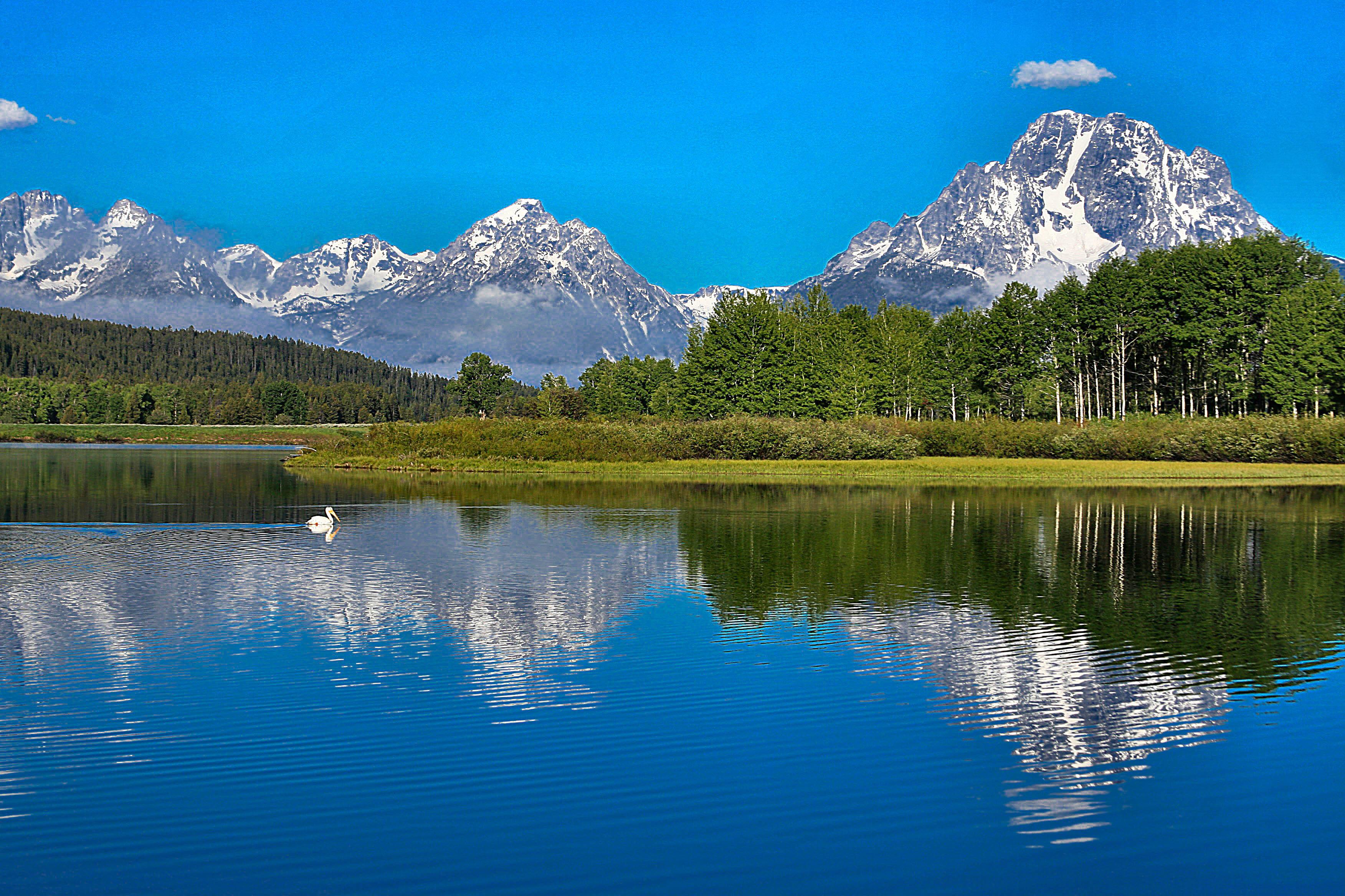 Teton Mountain Range-Wyoming