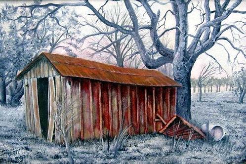 Blue Ridge Texas Barn - Framed
