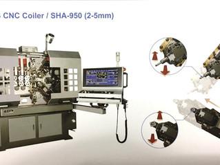 9 Axes CNC Coiler