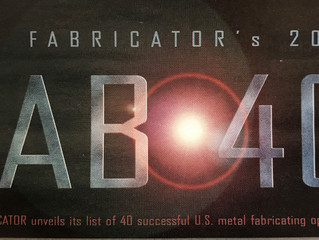 The Fabricator - JUNE 2010 Issue - MCM #18 on FAB 40 list