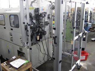 OSHA Safety Improvements - Machine Cage Protection Installed at MCM