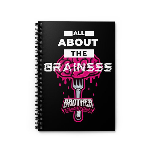 All About the Brainsss 'Brother Ghoulish's Tomb' Notebook