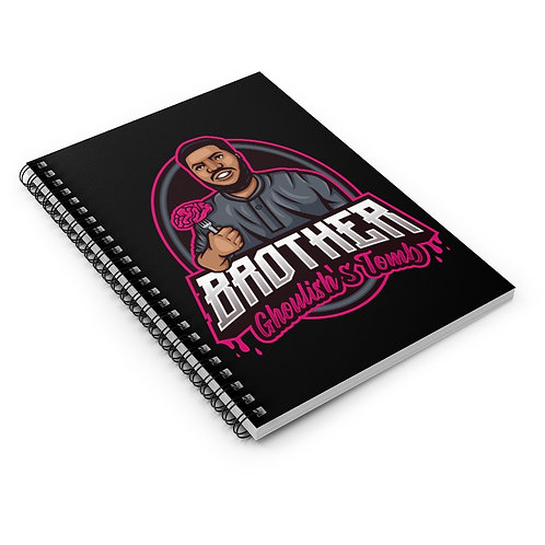 ☠ 'Brother Ghoulish's Tomb' Signature Notebook ☠