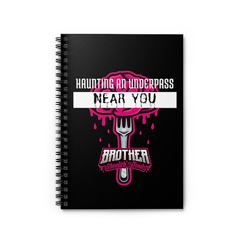 Haunting an Underpass Near You 'Brother Ghoulish's Tomb' Notebook