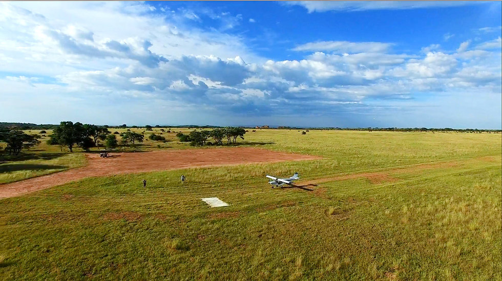 private plane game reserve