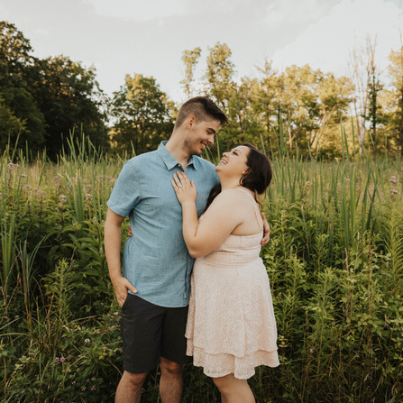 Stephanie & William - A Summer Engagement Session