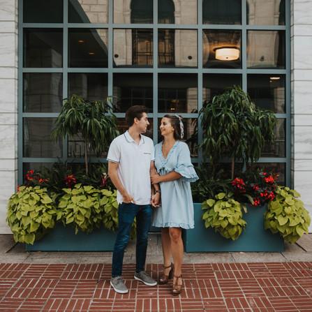 Gina & Mitch - A Detroit Couple Photoshoot