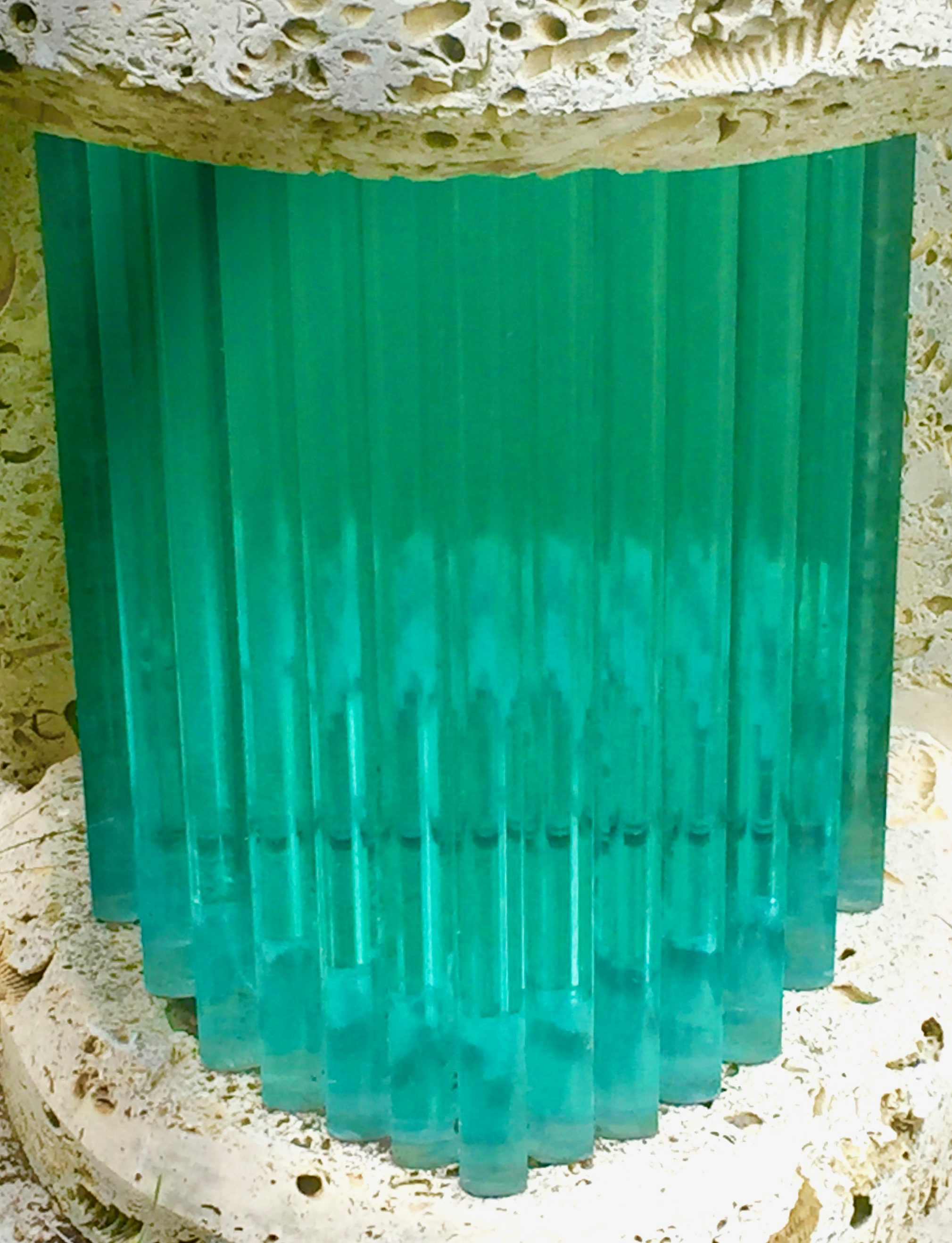 Stacked Glass Panels