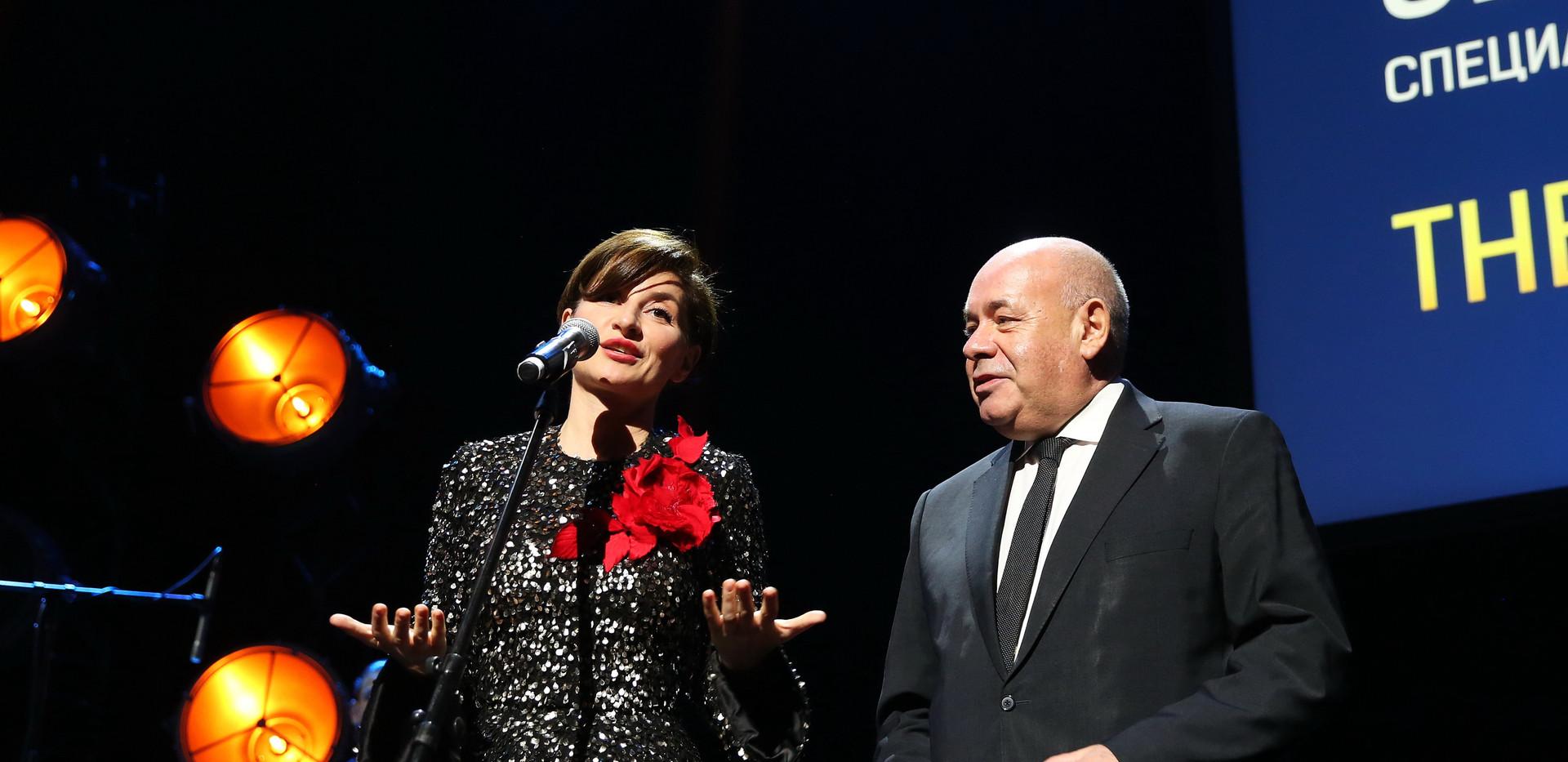 Софико Шеварднадзе и Михаил Швыдкой