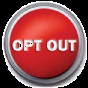 Volunteer Opt Out Fee