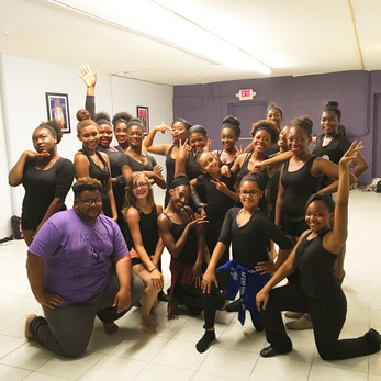 Location: La Marque, Texas Sponsor: Artists in Motion Dance Studio  Class Type: Horton-based Modern  Age: 10-15