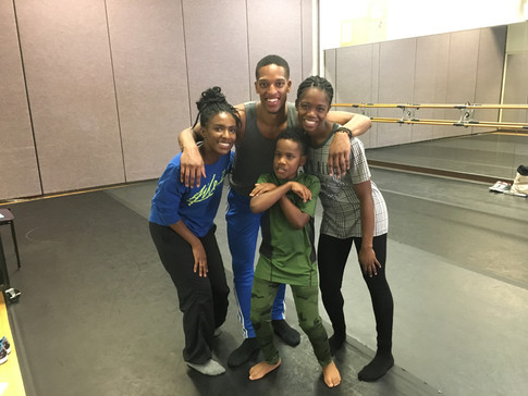 Location: Wilmington, Delaware Sponsor: Ailey II; Christina Cultural Arts Center Class Type: Modern Dance for Visually Impaired Age: 10