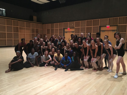 Location: Omaha, Nebraska Sponsor: Ailey II; Holland Performing Arts Center Class Type: Modern Contemporary Fusion  Age: 10 and Up