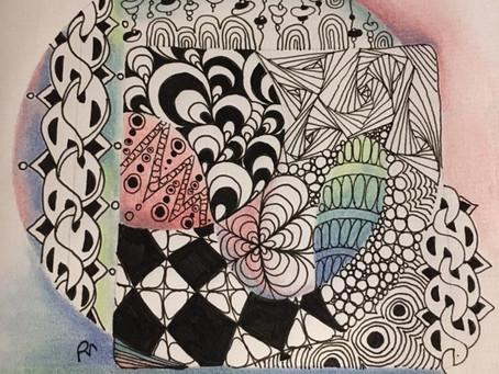 Zentangles color