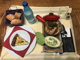 Exemple de plateau-repas
