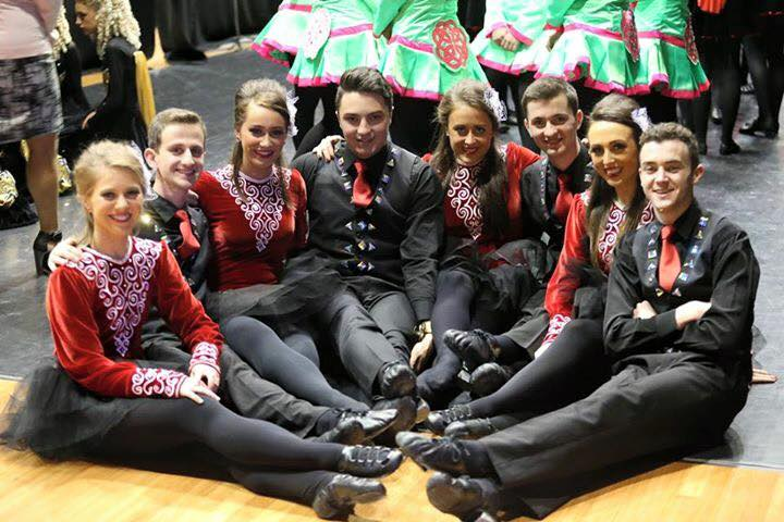 Senior dancers at Nationals 2015
