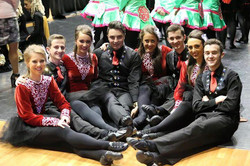 Senior dancers at Nationals 2015