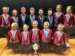 Junior Figure Dance Champions 2015!