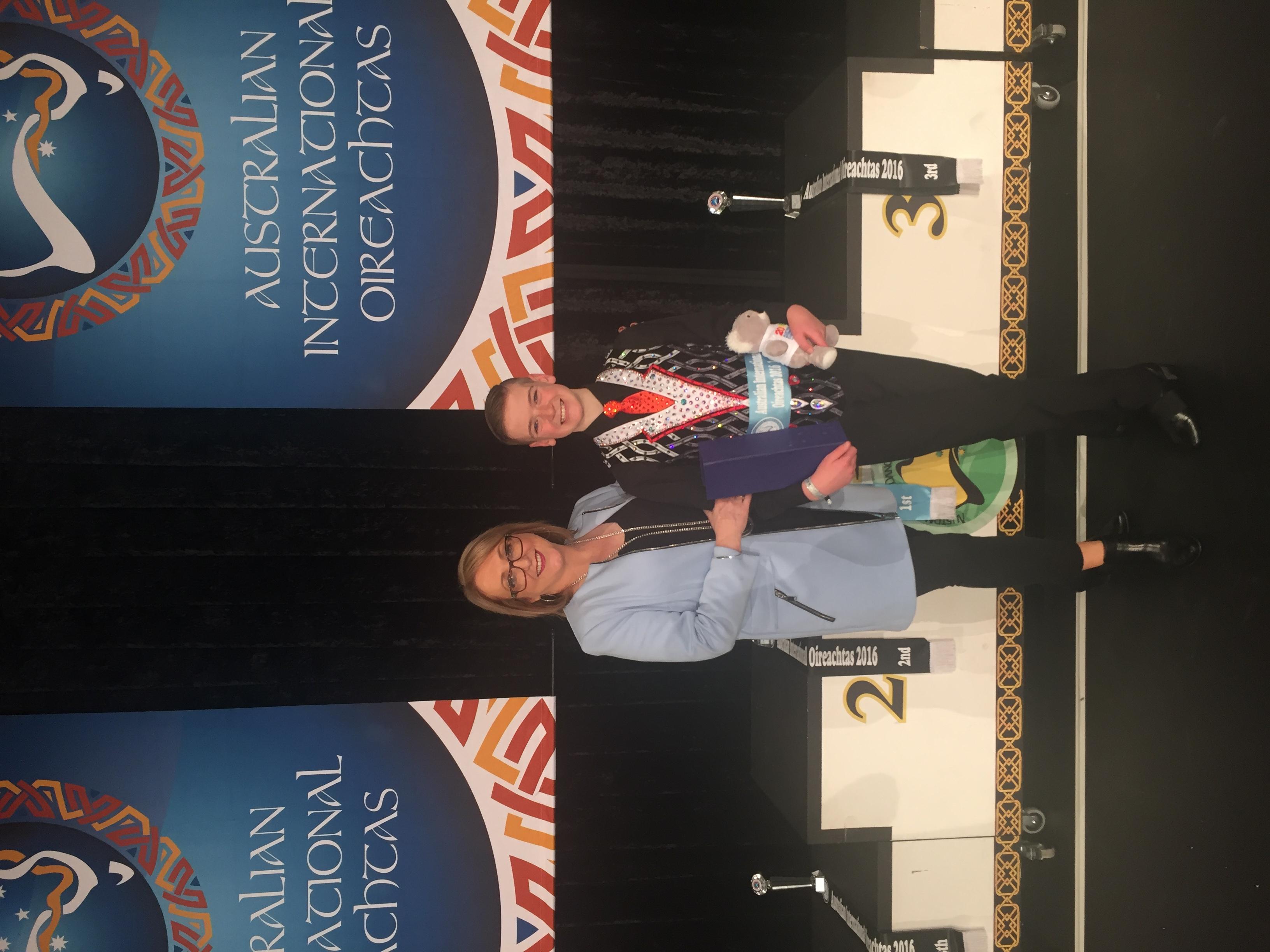 Lachlan Ball AIO Champion 2016!