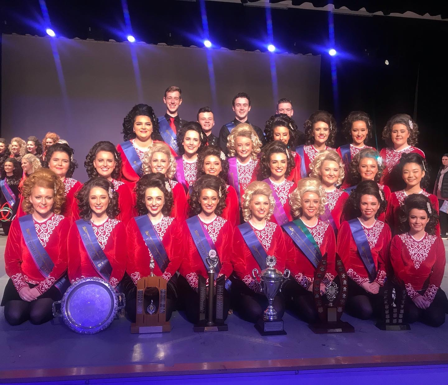 Senior Teams at the 2019 Victorian Ceili