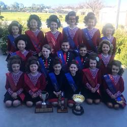 Junior Teams at the 2019 Victorian Ceili