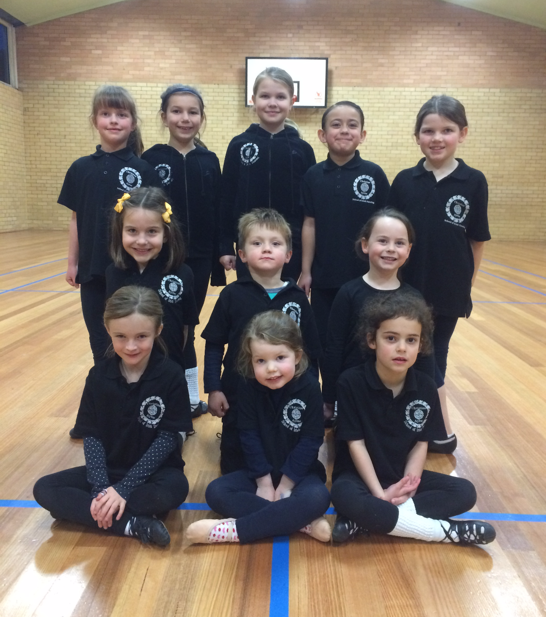 Some of our mini dancers ready for 2016!