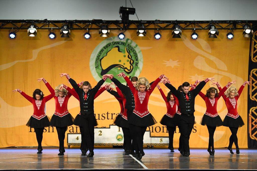 2017 Senior Figure Dance in flight