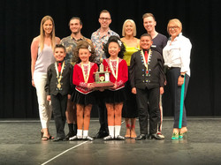 Australian Champion Under 10 Mixed 4-han