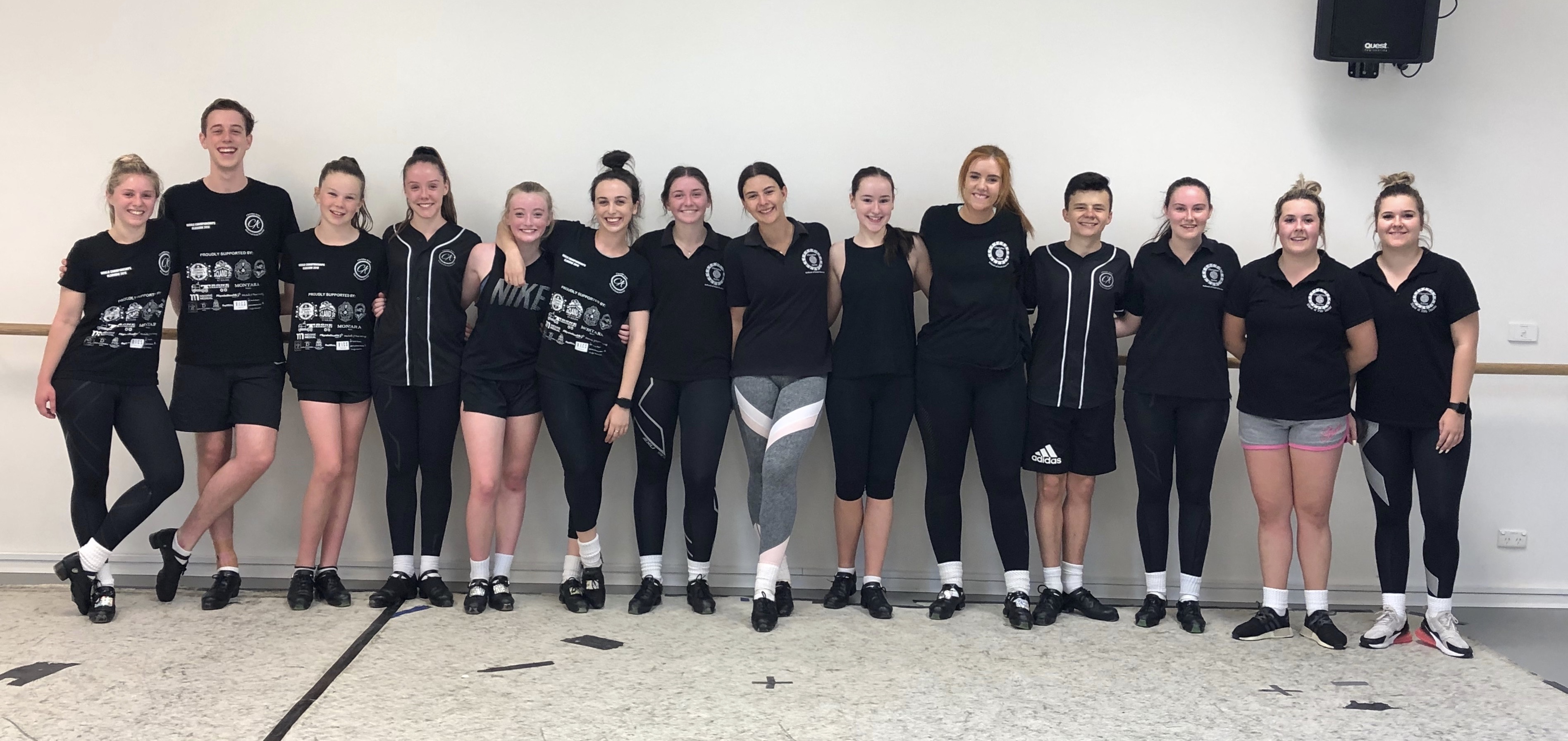 Hornpipe group at workshop 2019
