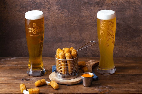 Buy us mozza sticks and beer
