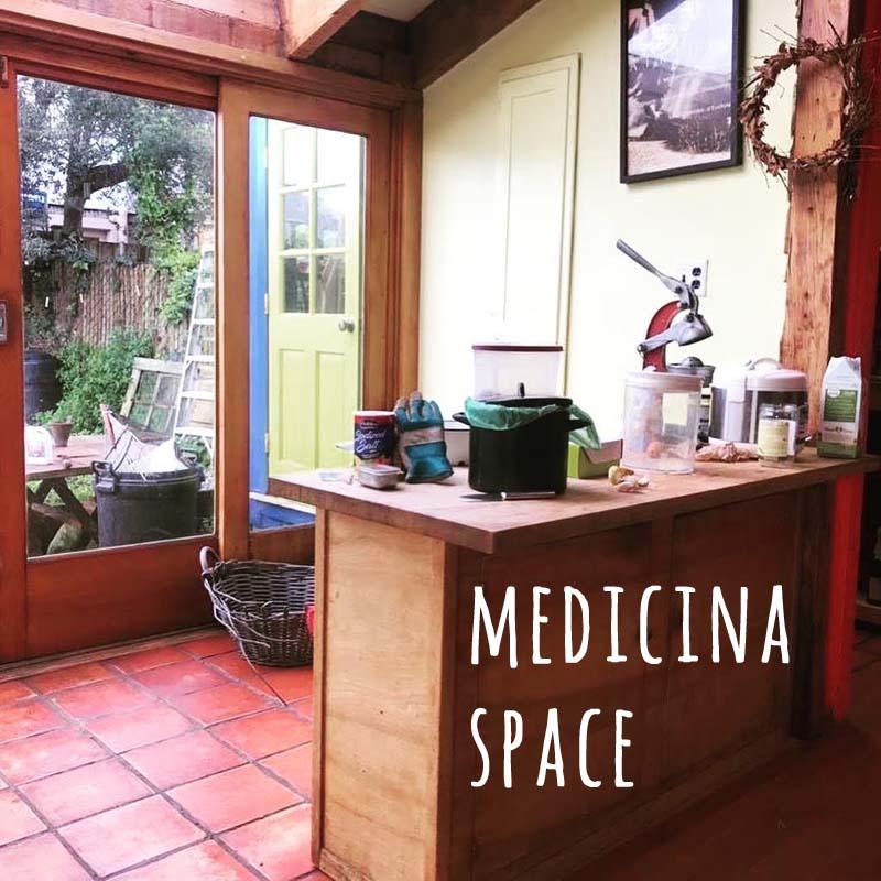 outdoor earth medicine, an extension