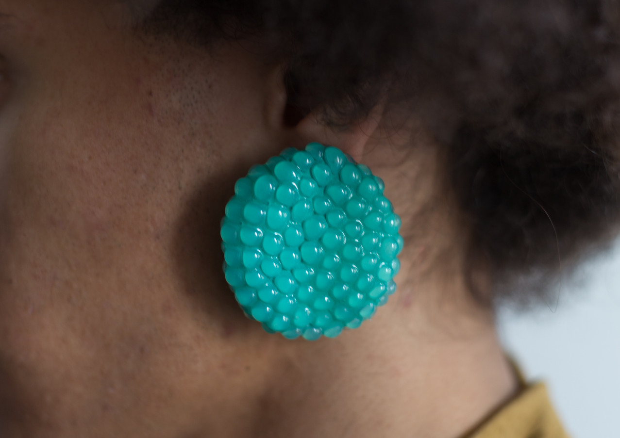 Turquoise Berry earring