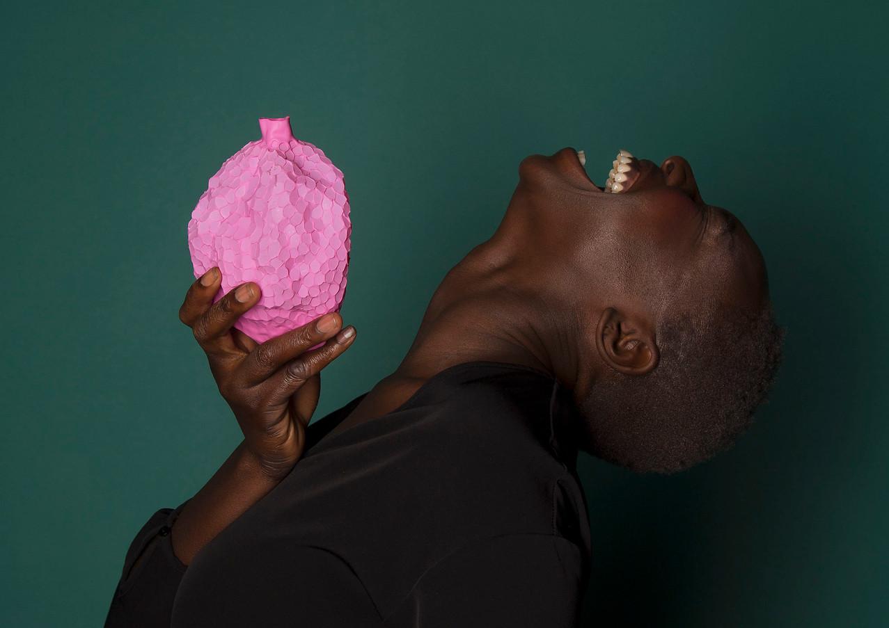 Pink Fertility Brooch