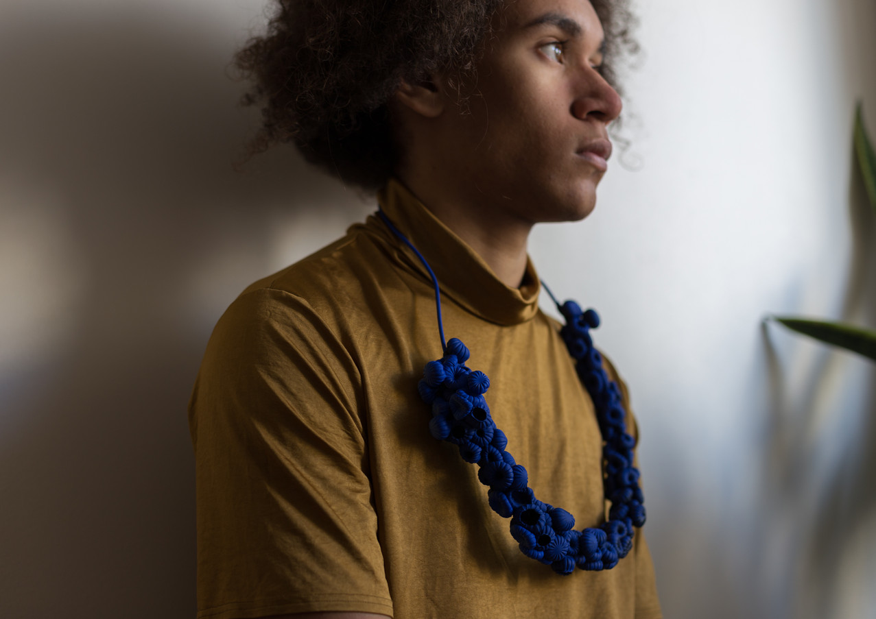 Tuhkeloiden a cappella-Blue Necklace, picture by Ninni Vidgren