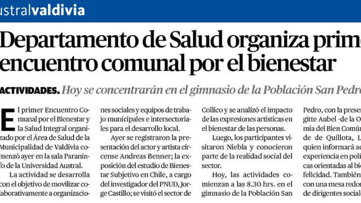 EBC Valparaíso invitado al 1° Encuentro Comunal por el Bienestar y la Salud Integral