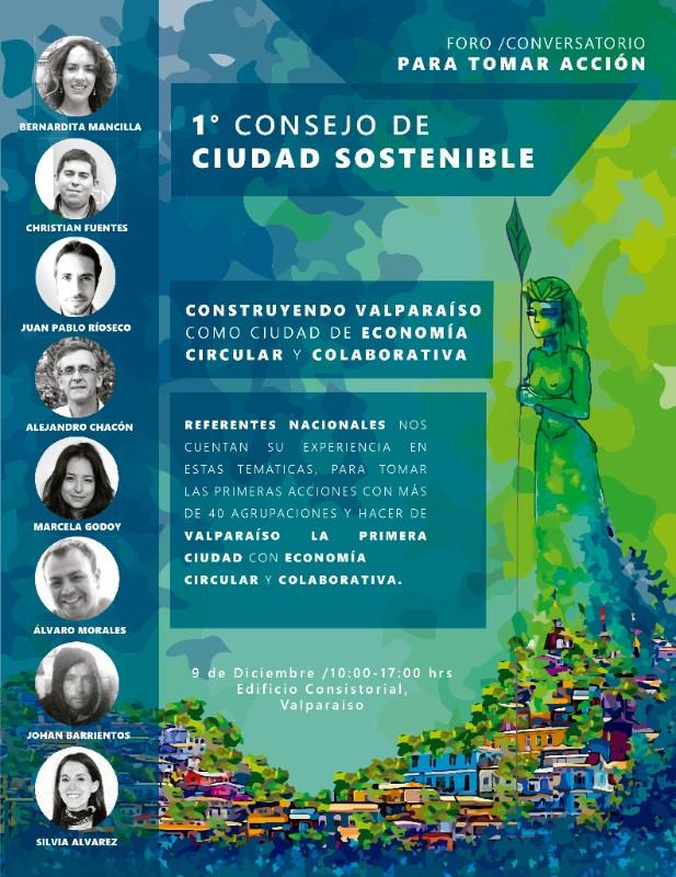 Corporación EBC en el Primer Consejo de Ciudad Sostenible en Valparaíso