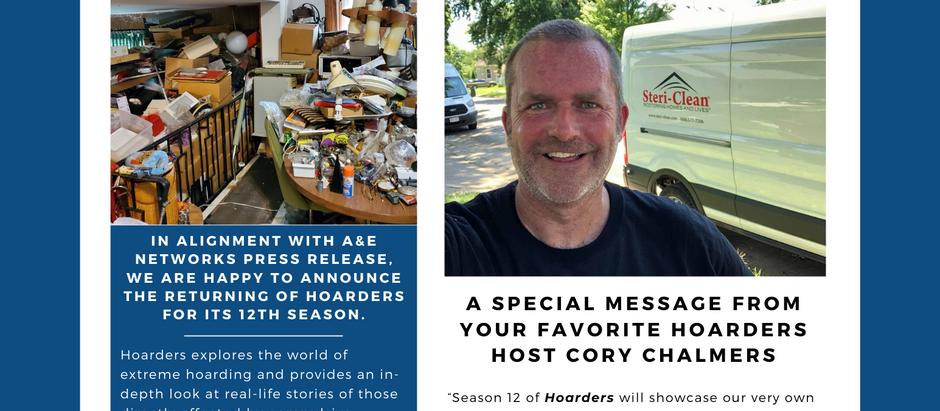 Hoarders Season 12 Press Release