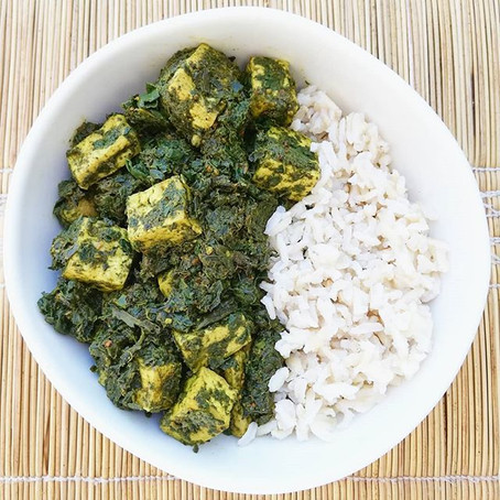 Recipe: Tofu Palak
