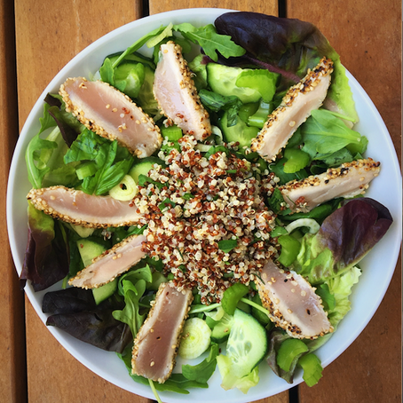 Sesame Seared Tuna Salad