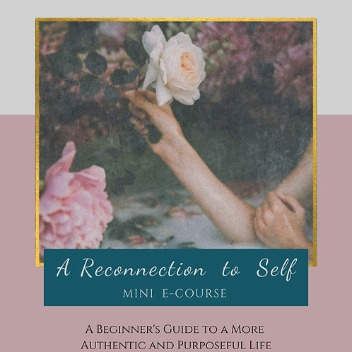 A Reconnection to Self