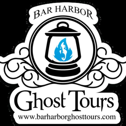 Bar Harbor Ghost Tour Logo Magnet