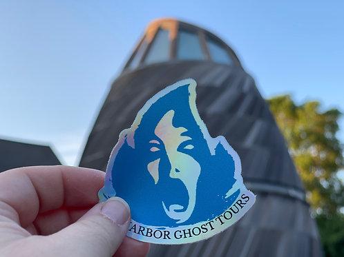 Screamo Holographic Sticker
