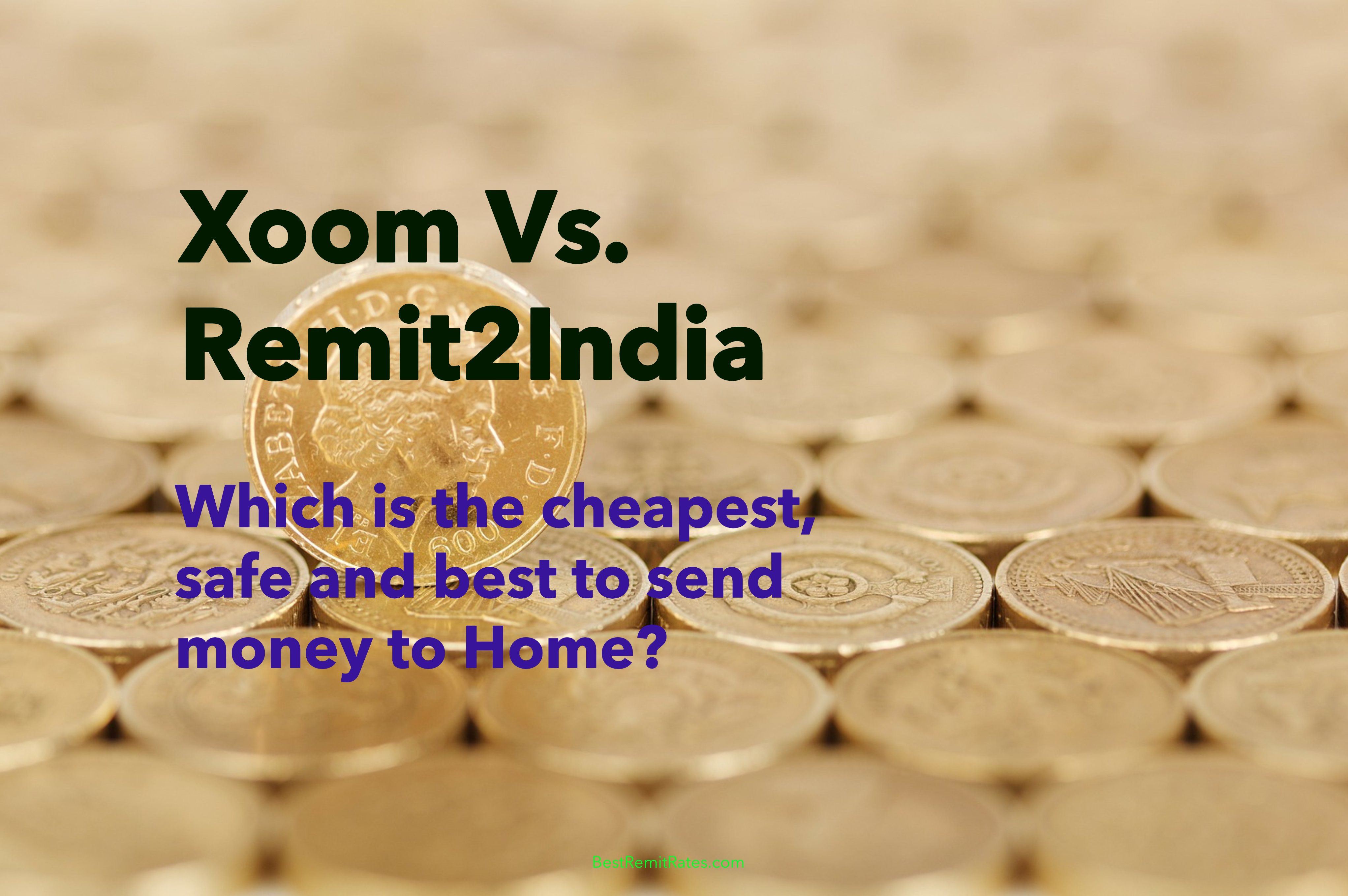 Xoom Vs Remit2india Jan 2020