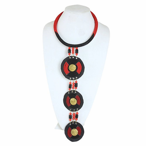 Ceremonial Maasai Pendant Necklace