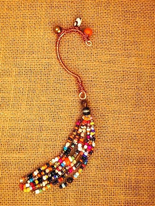 Belle's Nefertiti Dangle Cuff Earrings