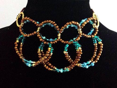 Belle's Mini-Loop Necklace